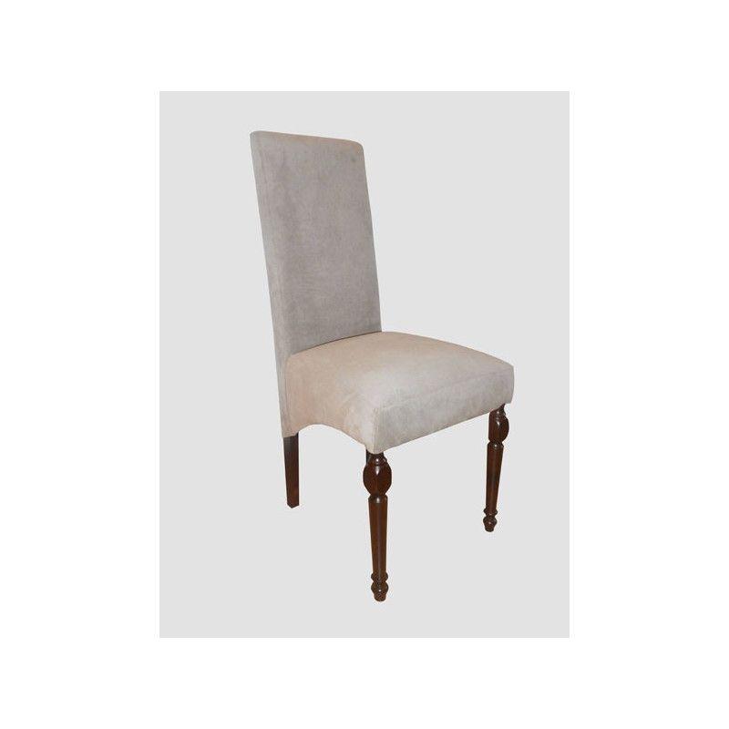 Krzesło tapicerowane Kamil skos - 1