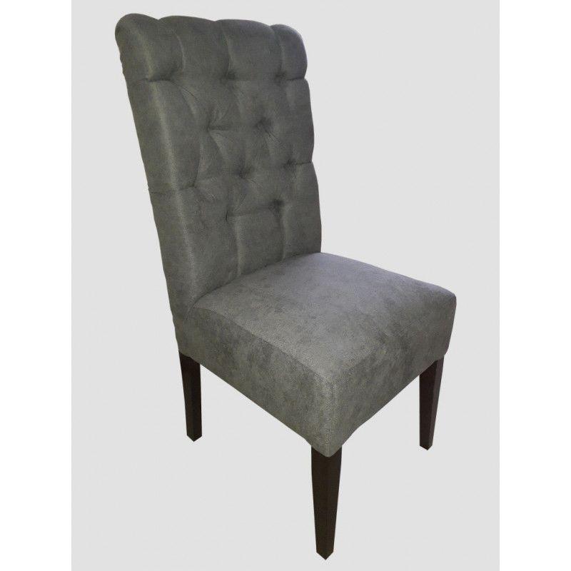 Krzesło fotel tapicerowany Fuks pik - 1