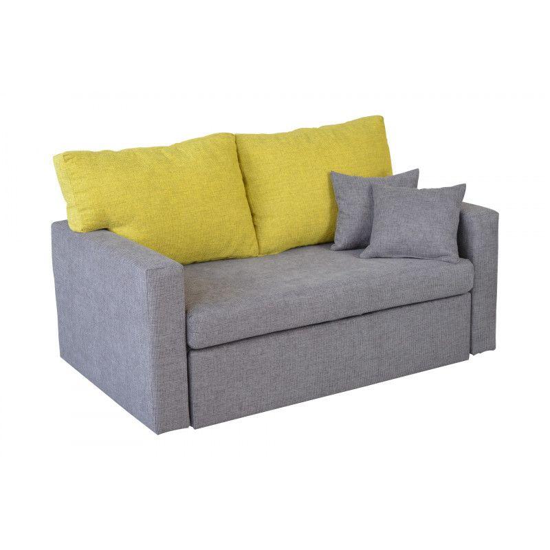 Sofa młodzieżowa dwuosobowa z funkcją spania GEMMA
