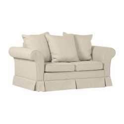 Sofa 2-osobowa rozkładana ESTELLA 120 w tkaninie Icon 02 (bez falbany)