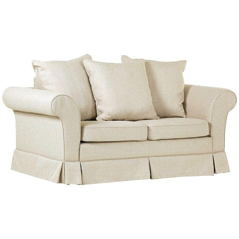 jasnobeżowa wygodna sofa z funkcją spania Estella